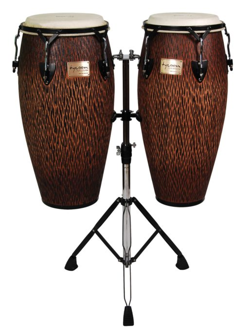 Supremo Series Select Chiseled Orange Congas