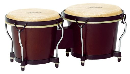 Ritmo Series Mahogany Finish Bongos