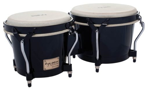 Supremo Series Black Finish Bongos