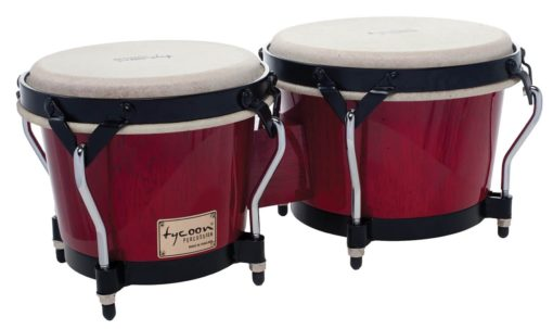 Supremo Series Red Finish Bongos
