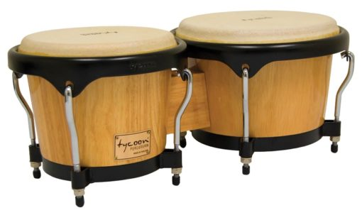 Artist Series Natural Finish Bongos