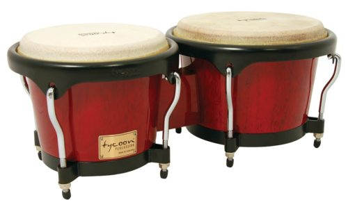 Artist Series Red Finish Bongos