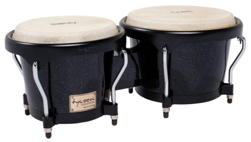 Artist Series Black Metallic Finish Bongos