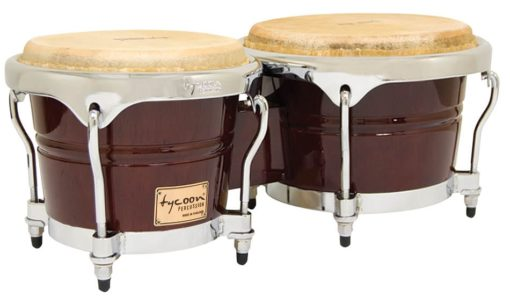 Concerto Series Mahogany Finish Bongos