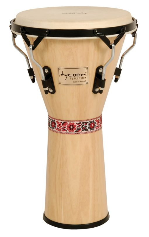 Supremo Series Natural Finish Djembe