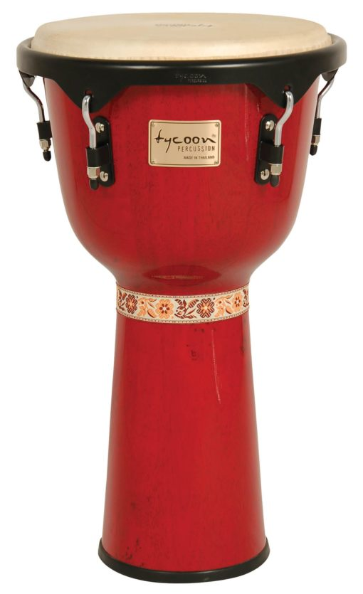 Artist Series Red Finish Djembe