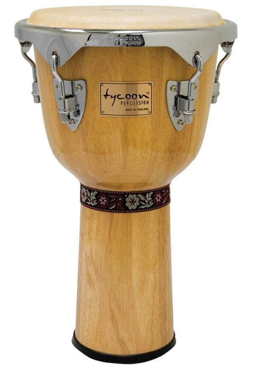 Concerto Series Natural Finish Djembe