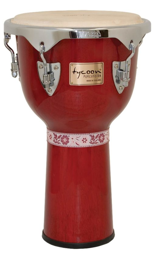 Concerto Series Red Finish Djembe