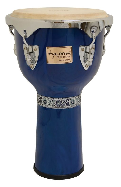 Concerto Series Blue Finish Djembe