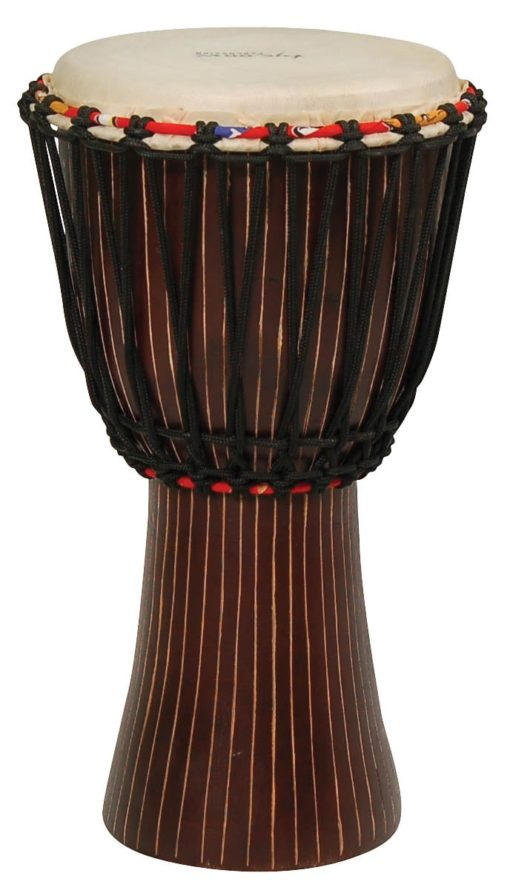 Hand-Carved African Djembe - T1 Finish