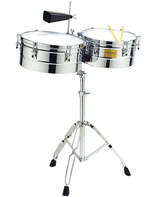 Chrome Shell Timbales