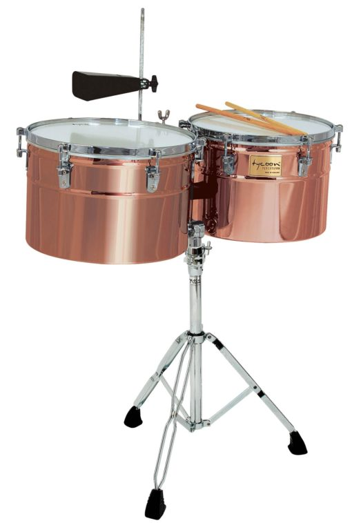 Extra-Deep Shell Antique Copper Timbales