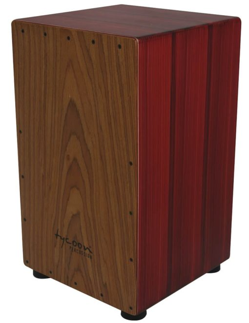 Artist Series Hand-Painted Red Cajon