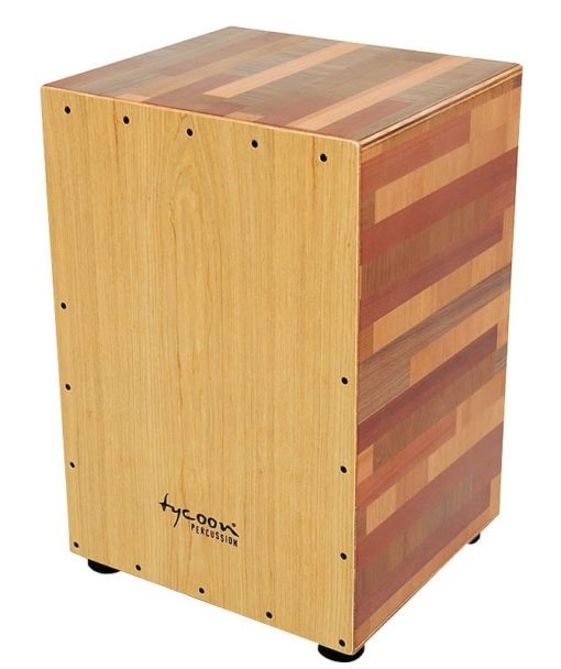 35 Series Wood Mixture Cajon With American Ash Front Plate