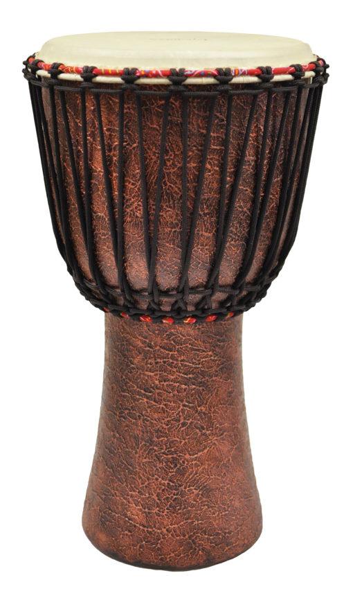 12 inch. African Djembe -Master Terra Cotta Series