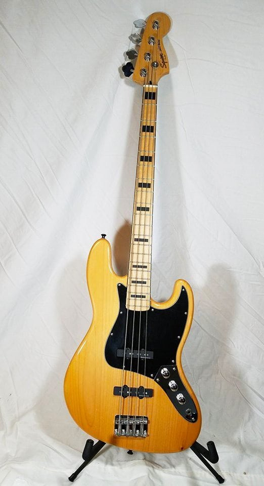Squier Vintage Modified Jazz Bass 77 Sold Mega Music Store