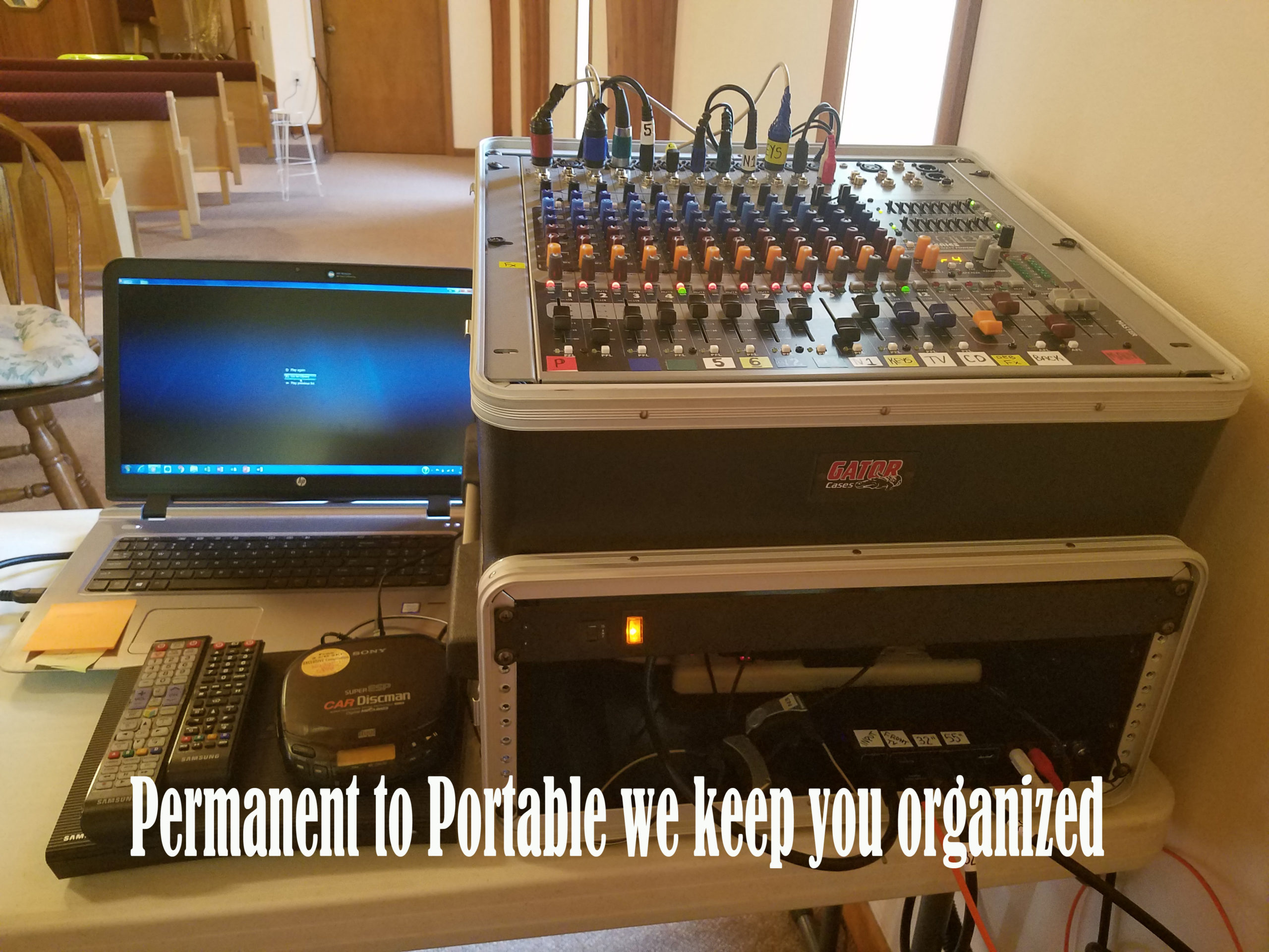 Permaanent to portable